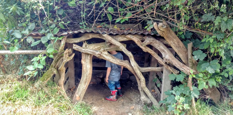Faery house at Priory Farm