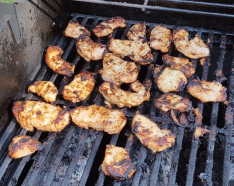 Tandoori chicken on the grill.jpg