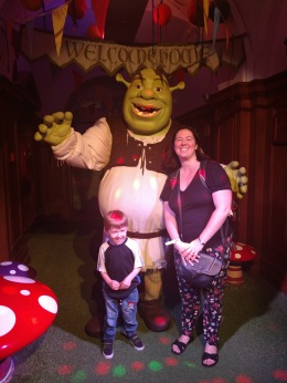 Photo with Shrek