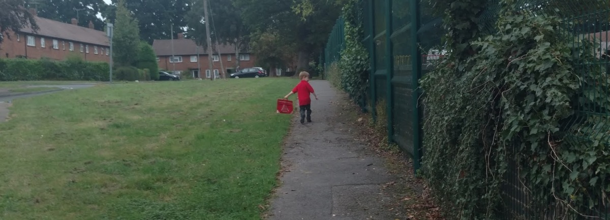 Not feeling sad on my son's first day at school – The Mum