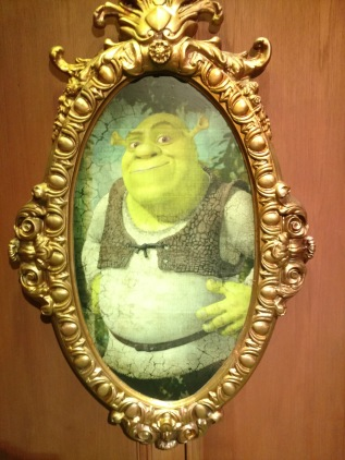 shrek portrait