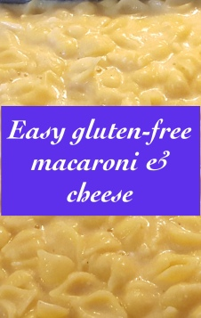 Easy gluten-free macaroni & cheese recipe