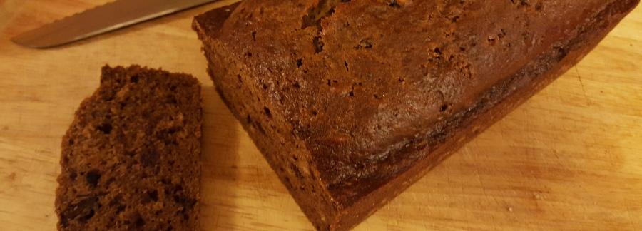 Chocolate Date Bread Recipe