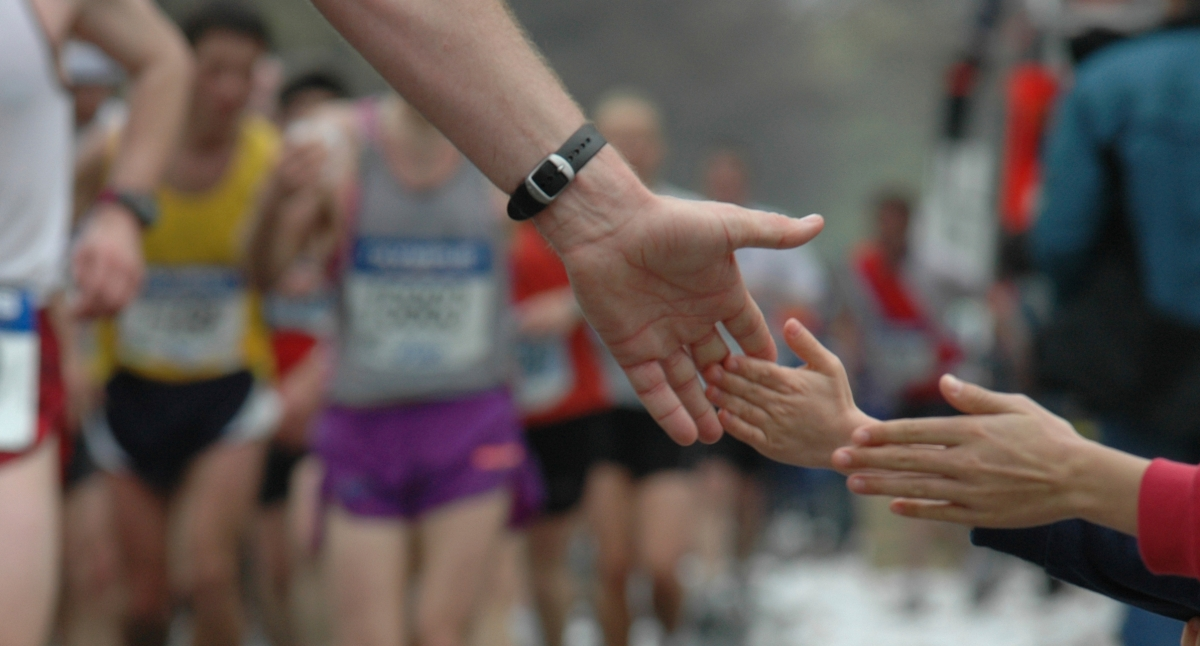 Running to help vulnerable children