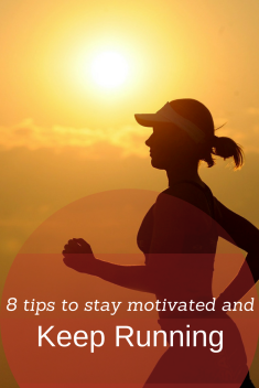 8 tips to stay motivated and keep running