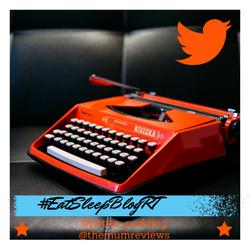 #EatSleepBlogRT – 21May