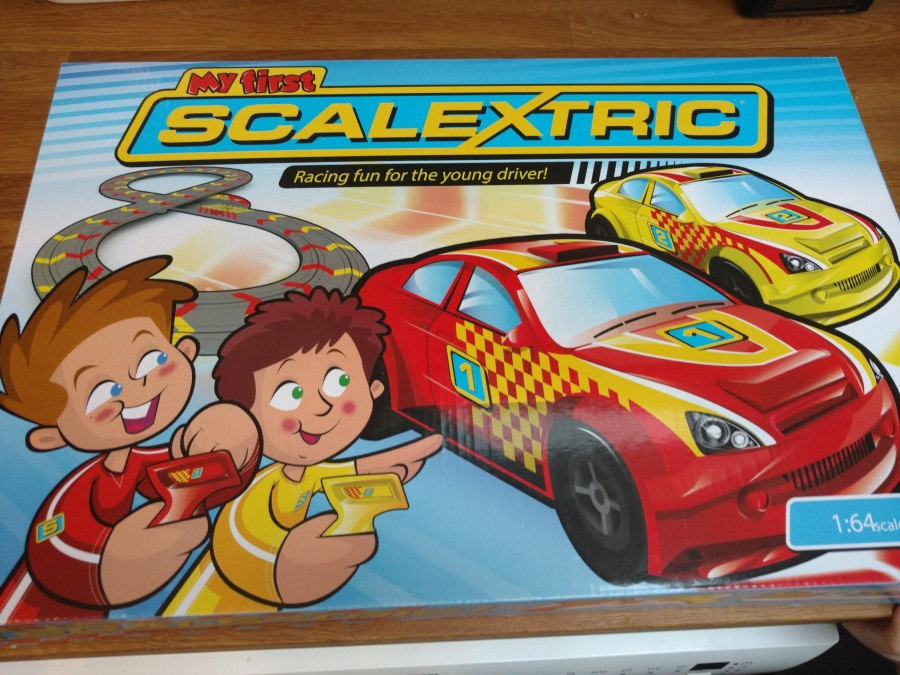 Picture of My First Scalextric box